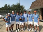 Boys Varsity Tennis finishes 1st place at NIC Tourney