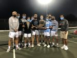 Boys' Tennis wins IHSAA Regional Championship