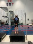 3rd State Title for Mary Cate Pruitt; 8th Place Finish for Girls' Swim Team