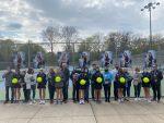Girls  Tennis defeats Crown Point 4-1 on Senior Night