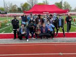 Boys' Track takes 1st place at Goshen Relays