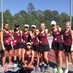 Girls Tennis Roll into SPAA Finals