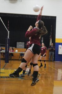Volleyball vs Woodlawn 10-4-16