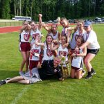Lady Barracudas Dominate SPAA Track and Field Championships