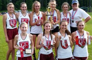 2017 Women's SPAA Track and Field Champions