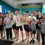 Barracuda Boys Win SPAA Swim Title
