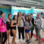 UCHS Girls Finish Second in SPAA Swim Championships