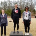 Perry and Roseman Lead UCHS Girls at Catawba County Track Meet