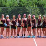 Lady Barracudas Tennis Falls in NCISAA 2A Semi-Finals