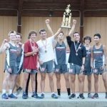 UCHS Boys Win SPAA Cross Country Championship