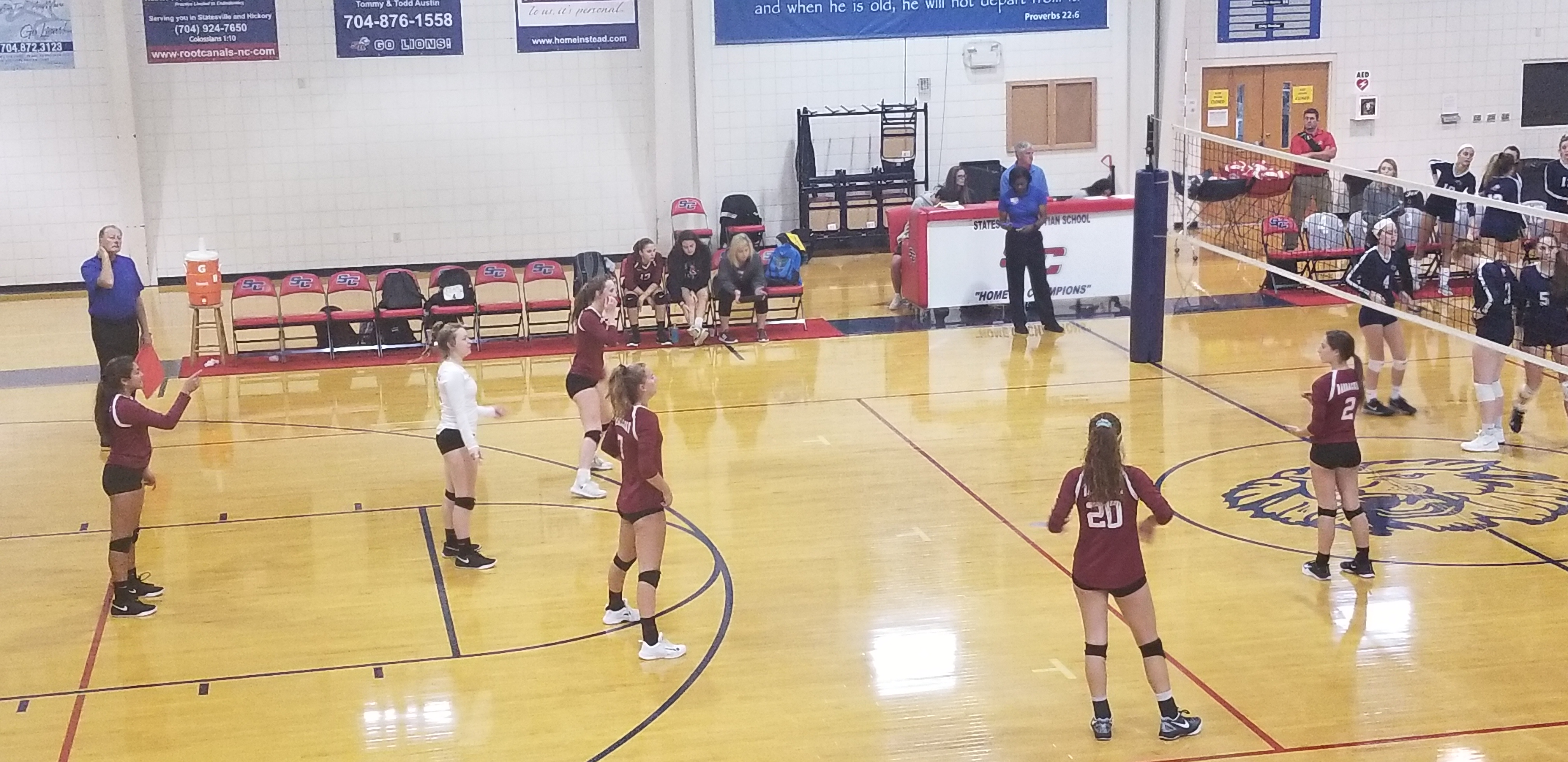 Volleyball Season Ends in NCISAA 2A Elite Eight