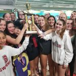 Lady Barracuda Swimmers Claim First SPAA Championship