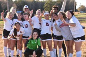 Girls Soccer at North Hills April 2, 2019