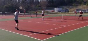 Tennis at Bunker Hill April 3, 2019