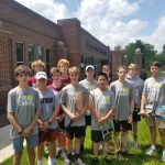 Boys Tennis Falls 3-6 at Greenfield School in NCISAA Playoffs
