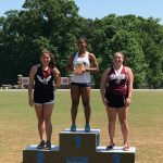 Amanda Perry Claims Third Place in Shot Put at NCISAA State Championship