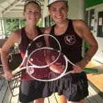 Lady Barracudas Sweep Gaston Day in 2019 Tennis Opener