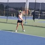 Girls Varsity Tennis falls to Davidson Day School 6 – 3