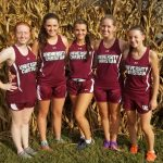 UCHS Boys and Girls at County Cross Country Meet