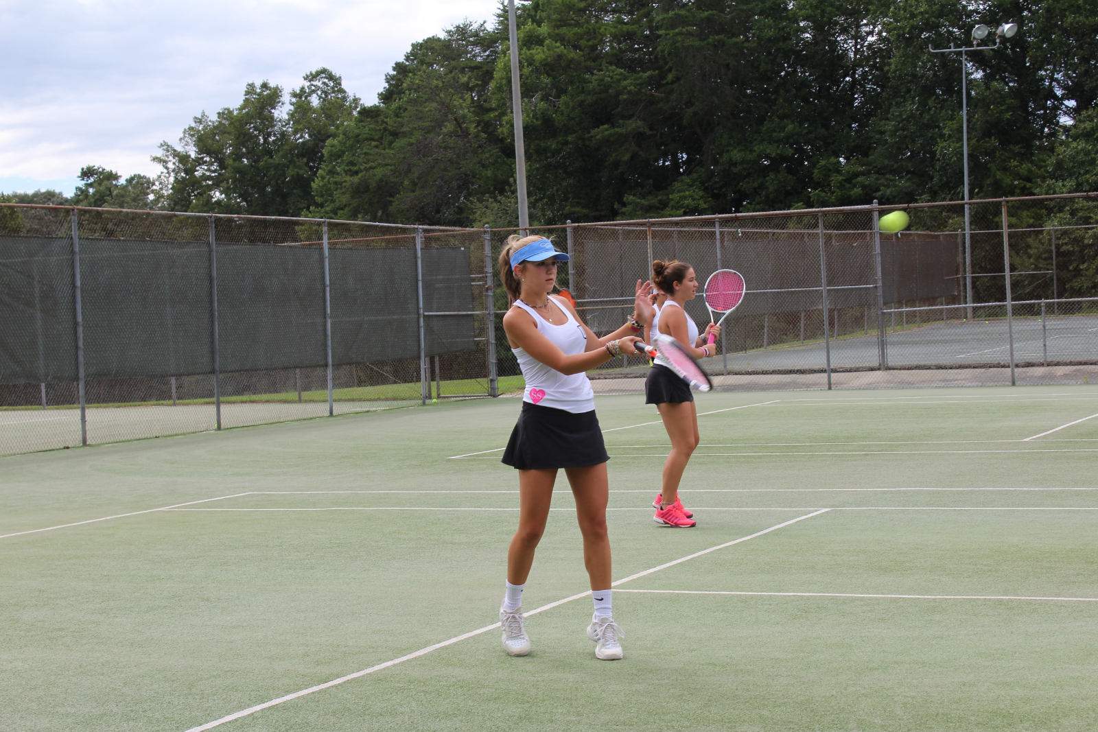 UCHS Girls Tennis Dominant in Win Over Hickory Christian Academy