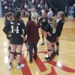 Volleyball Opens NCISAA State Playoffs at Hickory Christian Academy