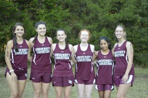 Lady Barracudas Cross Country 2019