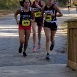 Lady Barracudas Finish Second at FAC Cross Country Meet