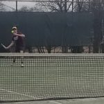 Tennis Drops Home Opener to Carolina Day School