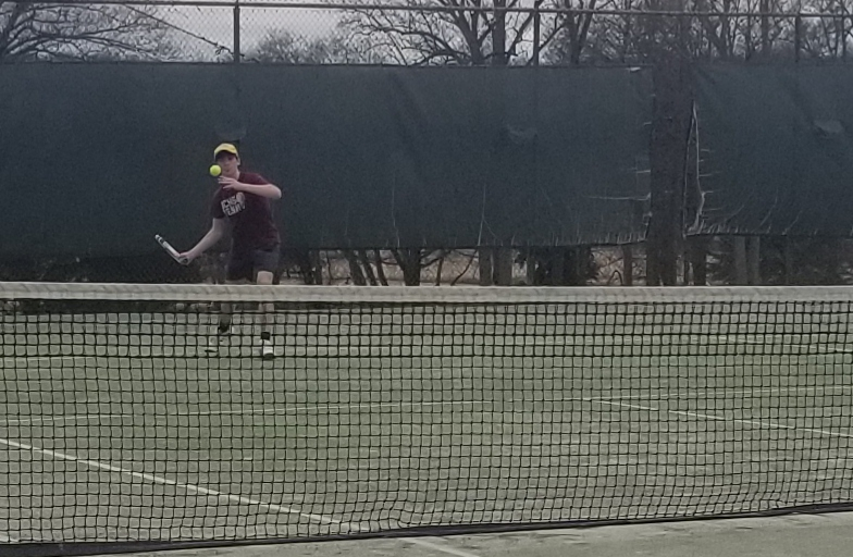 Tennis Drops Home Opener to Carolina Day School