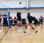 Volleyball Drops Statesville Christian to Stay Unbeaten