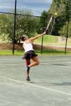 Lady Barracudas Win Opening Round State Playoff Tennis Match