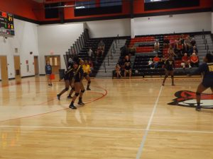 Keenan Girls Varsity Volleyball vs Fox Creek