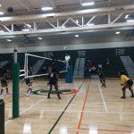 Keenan Girls Varsity Volleyball vs Eau Claire