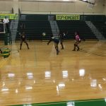Keenan Girls Varsity Volleyball vs C. A. Johnson