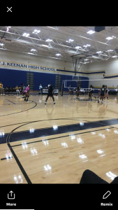 Girls Varsity Volleyball Team V.S Fairfield Varsity Team Sept. 28, 2018