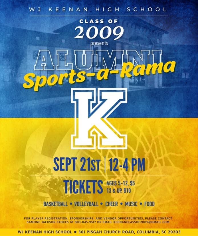 Class of 2009 presents Alumni Sports-a-Rama!