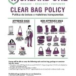 Richland One Clear Bag Policy at Varsity Football and Basketball Games