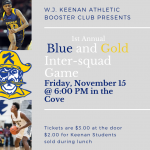 1st Annual W.J. Keenan Inter-Squad Basketball Game