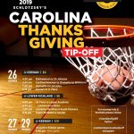 Schlotzky's Thanksgiving Tourney Updated Schedule