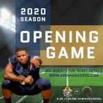 Ticket Information for Season Opener!