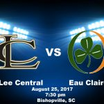 Eau Claire Football Travels to Lee Central