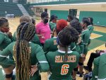 Girls Varsity Volleyball beats Columbia 3 – 0