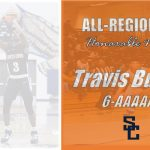 Travis Burrus Selected Honorable Mention All-Region 6-AAAAAA