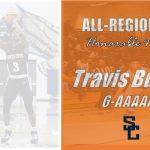 Travis Burrus Selected Honorable Mention All-Region 6-AAAAAA