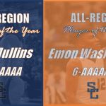 Mullins & Washington Selected Region 6-AAAAAA Player of the Year