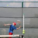 Rebels Tennis Fought Hard in District