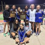 Lady Rebs Win 25 6A District Track Title