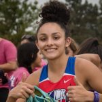 Gabby Bosquez Competes at State Cross Country Meet