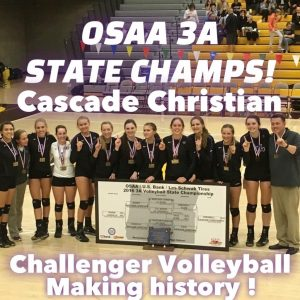 2016 OSAA 3A State Volleyball Champions