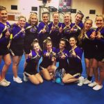 Challenger Cheer Takes 1st at Saturday's Competition!